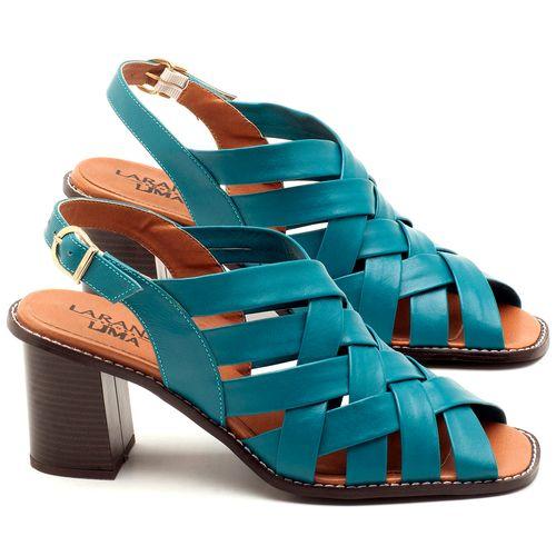 Laranja_Lima_Shoes_Sapatos_Femininos_Sandalia_Laranja_Lima_Shoes_Classic_Salto_de_6_cm_em_Couro_Azul_-_Codigo_-_3544_1