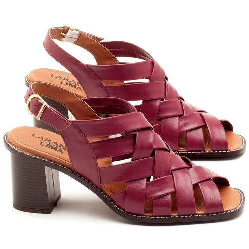 Laranja_Lima_Shoes_Sapatos_Femininos_Sandalia_Laranja_Lima_Shoes_Classic_Salto_de_6_cm_em_Couro_Roxo_-_Codigo_-_3544_1