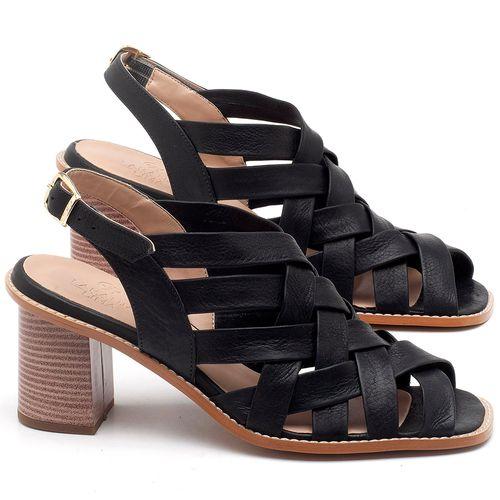 Laranja_Lima_Shoes_Sapatos_Femininos_Sandalia_Laranja_Lima_Shoes_Classic_Salto_de_6_cm_em_Couro_Preto_-_Codigo_-_3544_1