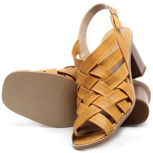 Laranja_Lima_Shoes_Sapatos_Femininos_Sandalia_Laranja_Lima_Shoes_Classic_Salto_de_6_cm_em_Couro_Amarelo_-_Codigo_-_3544_2