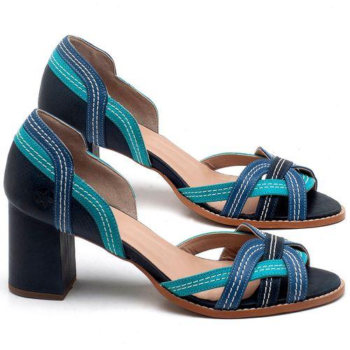 Laranja_Lima_Shoes_Sapatos_Femininos_Sandalia_Laranja_Lima_Shoes_Classic_Salto_de_6_cm_em_Couro_Bicolor_-_Codigo_-_3545_1