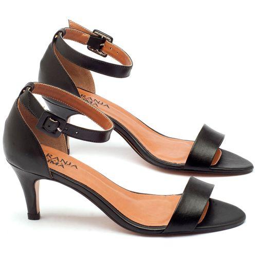 Laranja_Lima_Shoes_Sapatos_Femininos_Sandalia_Laranja_Lima_Shoes_Classic_Salto_de_7_cm_em_Couro_Preto_-_Codigo_-_3553_1
