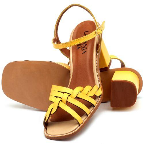 Laranja_Lima_Shoes_Sapatos_Femininos_Sandalia_Laranja_Lima_Shoes_Classic_Salto_de_6_cm_em_Couro_Amarelo_-_Codigo_-_3555_2