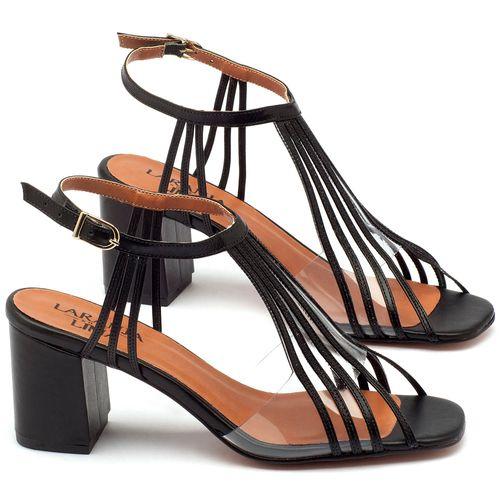 Laranja_Lima_Shoes_Sapatos_Femininos_Sandalia_Laranja_Lima_Shoes_Classic_Salto_de_6_cm_em_Couro_Preto_-_Codigo_-_3557_1