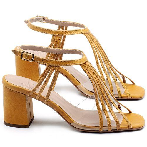 Laranja_Lima_Shoes_Sapatos_Femininos_Sandalia_Laranja_Lima_Shoes_Classic_Salto_de_6_cm_em_Couro_Amarelo_-_Codigo_-_3557_1