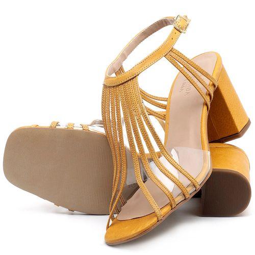 Laranja_Lima_Shoes_Sapatos_Femininos_Sandalia_Laranja_Lima_Shoes_Classic_Salto_de_6_cm_em_Couro_Amarelo_-_Codigo_-_3557_2