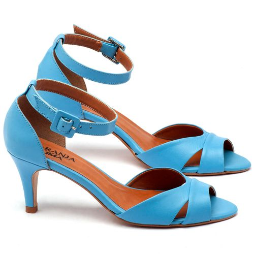 Laranja_Lima_Shoes_Sapatos_Femininos_Sandalia_Laranja_Lima_Shoes_Classic_Salto_de_7_cm_em_Couro_Azul_-_Codigo_-_3558_1