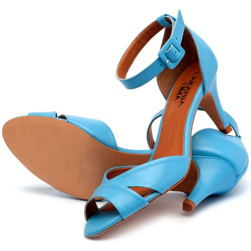 Laranja_Lima_Shoes_Sapatos_Femininos_Sandalia_Laranja_Lima_Shoes_Classic_Salto_de_7_cm_em_Couro_Azul_-_Codigo_-_3558_2
