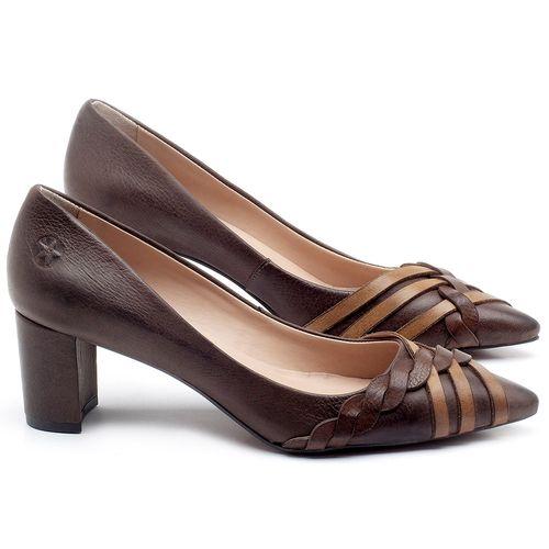Laranja_Lima_Shoes_Sapatos_Femininos_Scarpin_Salto_Medio_de_6_cm_em_Couro_Bicolor_-_Codigo_-_3562_1