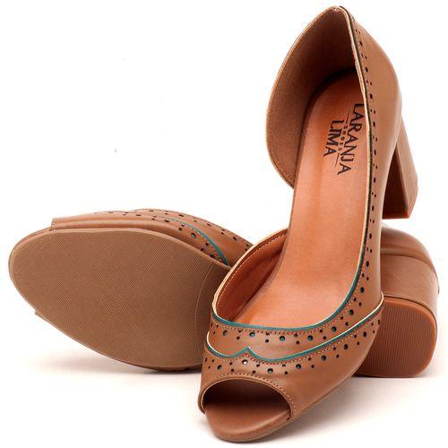 Laranja_Lima_Shoes_Sapatos_Femininos_Peep_Toe_Laranja_Lima_Shoes_Salto_de_6_cm_em_Couro_Bege_-_Codigo_-_3570_2
