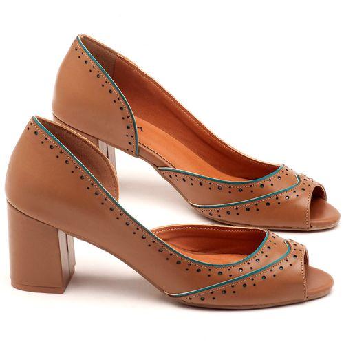 Laranja_Lima_Shoes_Sapatos_Femininos_Peep_Toe_Laranja_Lima_Shoes_Salto_de_6_cm_em_Couro_Bege_-_Codigo_-_3570_1