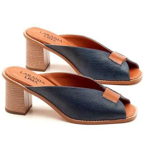Laranja_Lima_Shoes_Sapatos_Femininos_Sandalia_Laranja_Lima_Shoes_Classic_Salto_de_7_cm_em_Couro_Marinho_-_Codigo_-_3571_1