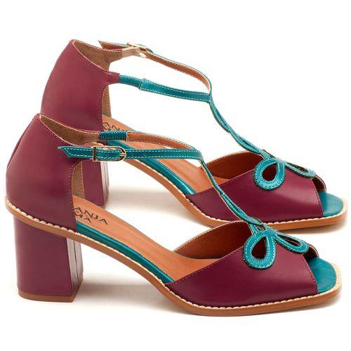 Laranja_Lima_Shoes_Sapatos_Femininos_Sandalia_Laranja_Lima_Shoes_Classic_Salto_de_6_cm_em_Couro_Bicolor_-_Codigo_-_3573_1