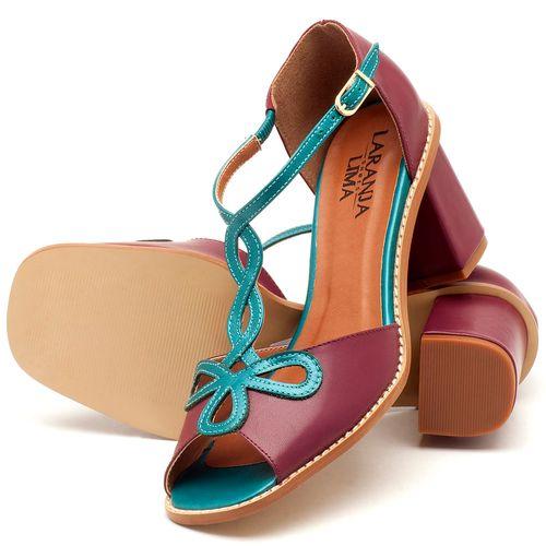 Laranja_Lima_Shoes_Sapatos_Femininos_Sandalia_Laranja_Lima_Shoes_Classic_Salto_de_6_cm_em_Couro_Bicolor_-_Codigo_-_3573_2