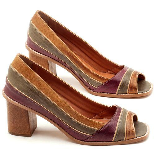 Laranja_Lima_Shoes_Sapatos_Femininos_Peep_Toe_Laranja_Lima_Shoes_Salto_de_6_cm_em_Couro_Multicolor_-_Codigo_-_3576_1