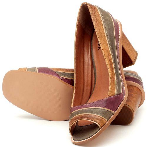 Laranja_Lima_Shoes_Sapatos_Femininos_Peep_Toe_Laranja_Lima_Shoes_Salto_de_6_cm_em_Couro_Multicolor_-_Codigo_-_3576_2