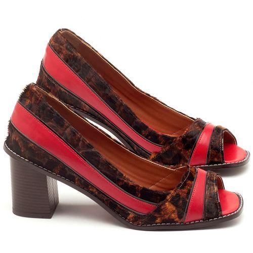 Laranja_Lima_Shoes_Sapatos_Femininos_Peep_Toe_Laranja_Lima_Shoes_Salto_de_6_cm_em_Couro_Bicolor_-_Codigo_-_3577_1