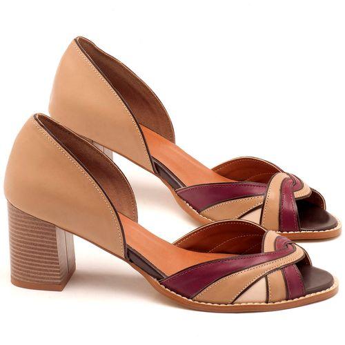 Laranja_Lima_Shoes_Sapatos_Femininos_Sandalia_Laranja_Lima_Shoes_Classic_Salto_de_6_cm_em_Couro_Bicolor_-_Codigo_-_3580_1
