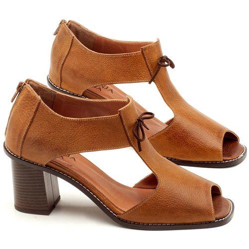 Laranja_Lima_Shoes_Sapatos_Femininos_Sandalia_Laranja_Lima_Shoes_Classic_Salto_de_6_cm_em_Couro_Caramelo_-_Codigo_-_3581_1