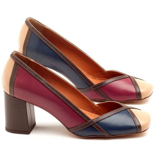 Laranja_Lima_Shoes_Sapatos_Femininos_Scarpin_Salto_Medio_de_6_cm_em_Couro_Multicolor_-_Codigo_-_3589_1