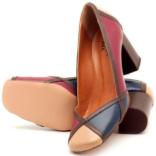 Laranja_Lima_Shoes_Sapatos_Femininos_Scarpin_Salto_Medio_de_6_cm_em_Couro_Multicolor_-_Codigo_-_3589_2