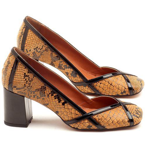 Laranja_Lima_Shoes_Sapatos_Femininos_Scarpin_Salto_Medio_de_6_cm_em_Couro_Bicolor_-_Codigo_-_3589_1