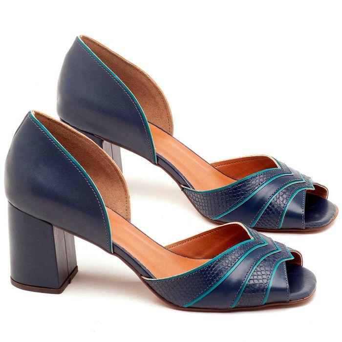 Laranja_Lima_Shoes_Sapatos_Femininos_Sandalia_Laranja_Lima_Shoes_Classic_em_Couro_Marinho_-_Codigo_-_3590_1