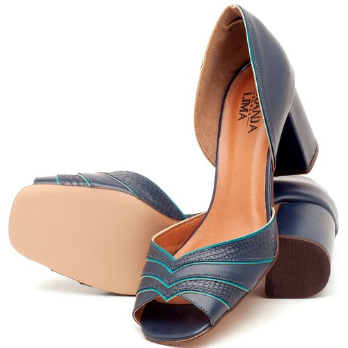 Laranja_Lima_Shoes_Sapatos_Femininos_Sandalia_Laranja_Lima_Shoes_Classic_em_Couro_Marinho_-_Codigo_-_3590_2