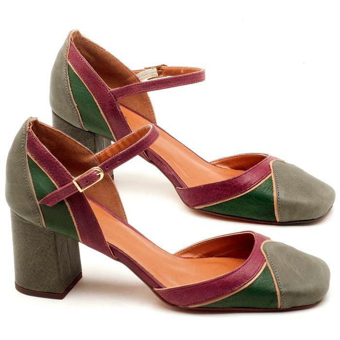 Laranja_Lima_Shoes_Sapatos_Femininos_Scarpin_Salto_Medio_de_6_cm_em_Couro_Multicolor_-_Codigo_-_3594_1
