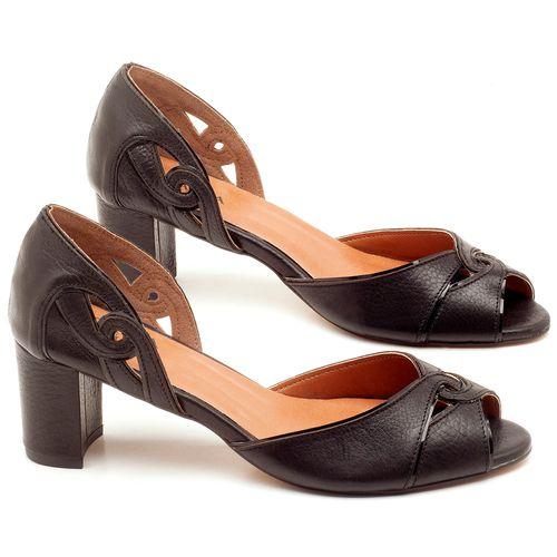 Laranja_Lima_Shoes_Sapatos_Femininos_Sandalia_Laranja_Lima_Shoes_Classic_Salto_de_6_cm_em_Couro_Preto_-_Codigo_-_3595_1