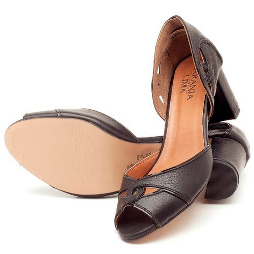 Laranja_Lima_Shoes_Sapatos_Femininos_Sandalia_Laranja_Lima_Shoes_Classic_Salto_de_6_cm_em_Couro_Preto_-_Codigo_-_3595_2