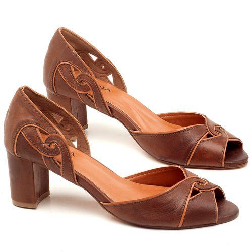 Laranja_Lima_Shoes_Sapatos_Femininos_Sandalia_Laranja_Lima_Shoes_Classic_Salto_de_6_cm_em_Couro_Caramelo_-_Codigo_-_3595_1