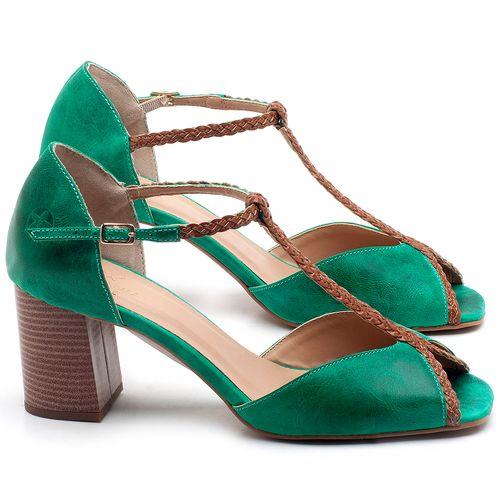 Laranja_Lima_Shoes_Sapatos_Femininos_Sandalia_Laranja_Lima_Shoes_Classic_Salto_de_6_cm_em_Couro_Verde_-_Codigo_-_3596_1