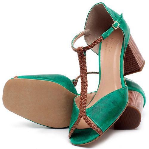 Laranja_Lima_Shoes_Sapatos_Femininos_Sandalia_Laranja_Lima_Shoes_Classic_Salto_de_6_cm_em_Couro_Verde_-_Codigo_-_3596_2