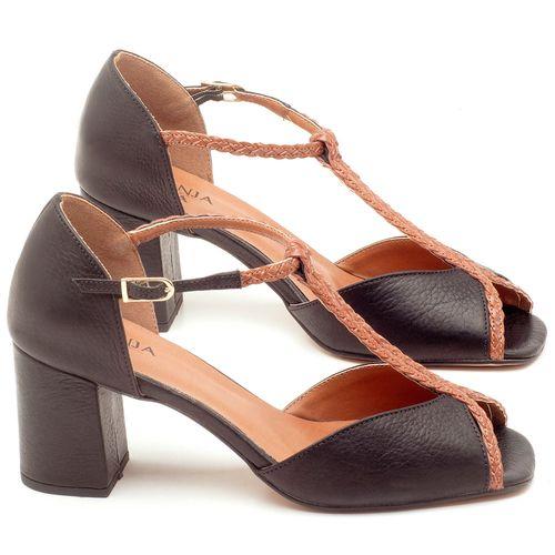 Laranja_Lima_Shoes_Sapatos_Femininos_Sandalia_Laranja_Lima_Shoes_Classic_Salto_de_6_cm_em_Couro_Preto_-_Codigo_-_3596_1