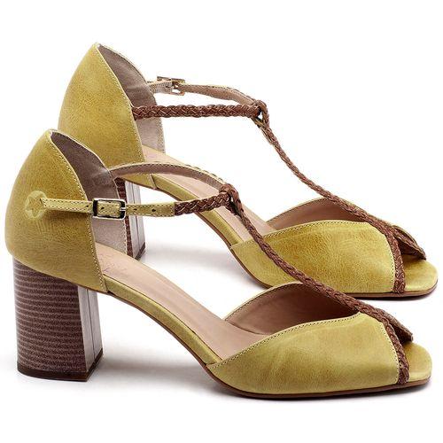 Laranja_Lima_Shoes_Sapatos_Femininos_Sandalia_Laranja_Lima_Shoes_Classic_Salto_de_6_cm_em_Couro_Amarelo_-_Codigo_-_3596_1
