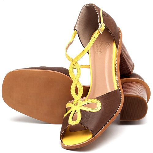 Laranja_Lima_Shoes_Sapatos_Femininos_Sandalia_Laranja_Lima_Shoes_Classic_Salto_de_6_cm_em_Couro_Bicolor_-_Codigo_-_3598_2