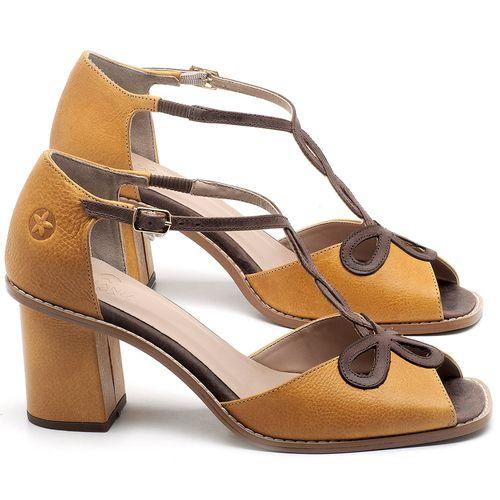 Laranja_Lima_Shoes_Sapatos_Femininos_Sandalia_Laranja_Lima_Shoes_Classic_Salto_de_6_cm_em_Couro_Amarelo_-_Codigo_-_3598_1