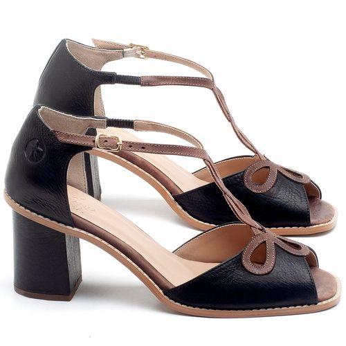 Laranja_Lima_Shoes_Sapatos_Femininos_Sandalia_Laranja_Lima_Shoes_Classic_Salto_de_6_cm_em_Couro_Preto_-_Codigo_-_3598_1