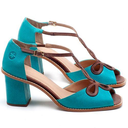 Laranja_Lima_Shoes_Sapatos_Femininos_Sandalia_Laranja_Lima_Shoes_Classic_Salto_de_6_cm_em_Couro_Azul_-_Codigo_-_3598_1