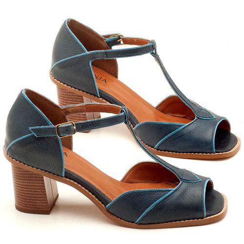 Laranja_Lima_Shoes_Sapatos_Femininos_Sandalia_Laranja_Lima_Shoes_Classic_Salto_de_7_cm_em_Couro_Marinho_-_Codigo_-_3603_1
