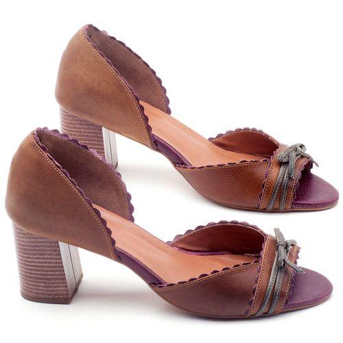 Laranja_Lima_Shoes_Sapatos_Femininos_Sandalia_Laranja_Lima_Shoes_Classic_Salto_de_6_cm_em_Couro_Bicolor_-_Codigo_-_3605_1
