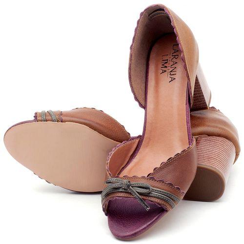 Laranja_Lima_Shoes_Sapatos_Femininos_Sandalia_Laranja_Lima_Shoes_Classic_Salto_de_6_cm_em_Couro_Bicolor_-_Codigo_-_3605_2