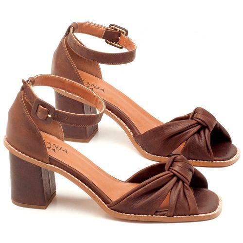 Laranja_Lima_Shoes_Sapatos_Femininos_Sandalia_Laranja_Lima_Shoes_Classic_Salto_de_6_cm_em_Couro_Marrom_-_Codigo_-_3606_1