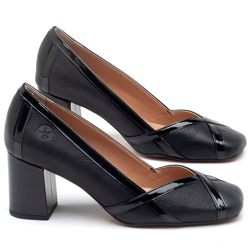 Laranja_Lima_Shoes_Sapatos_Femininos_Scarpin_Salto_Medio_de_6_cm_em_Couro_Preto_-_Codigo_-_3609_1