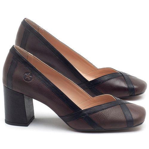 Laranja_Lima_Shoes_Sapatos_Femininos_Scarpin_Salto_Medio_de_6_cm_em_Couro_Bicolor_-_Codigo_-_3609_1