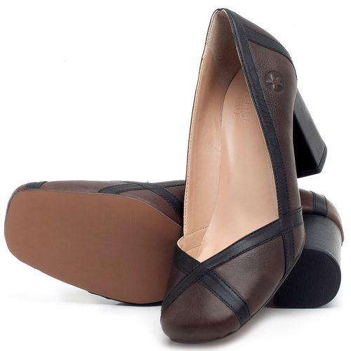 Laranja_Lima_Shoes_Sapatos_Femininos_Scarpin_Salto_Medio_de_6_cm_em_Couro_Bicolor_-_Codigo_-_3609_2
