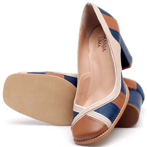 Laranja_Lima_Shoes_Sapatos_Femininos_Scarpin_Salto_Medio_de_6_cm_em_Couro_Multicolor_-_Codigo_-_3614_2