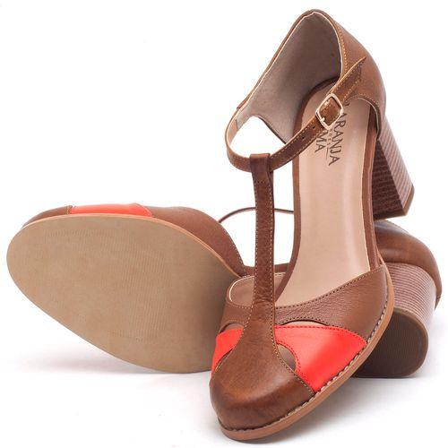 Laranja_Lima_Shoes_Sapatos_Femininos_Sandalia_Laranja_Lima_Shoes_Classic_Salto_de_6_cm_em_Couro_Bicolor_-_Codigo_-_3617_2