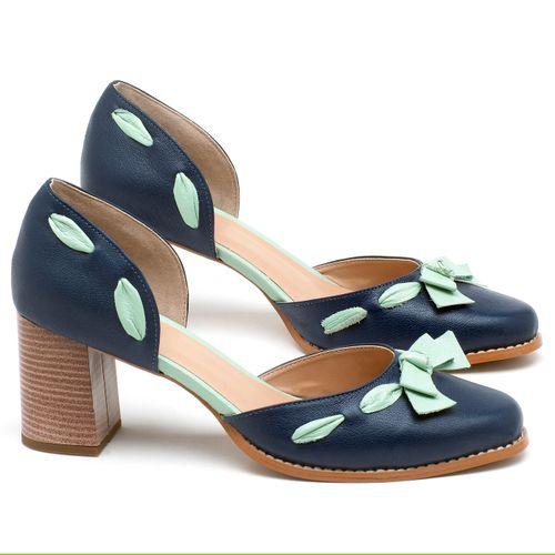 Laranja_Lima_Shoes_Sapatos_Femininos_Scarpin_Salto_Medio_de_6_cm_em_Couro_Bicolor_-_Codigo_-_3619_1